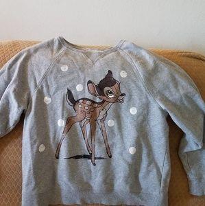 Deer sweatshirt from H&M